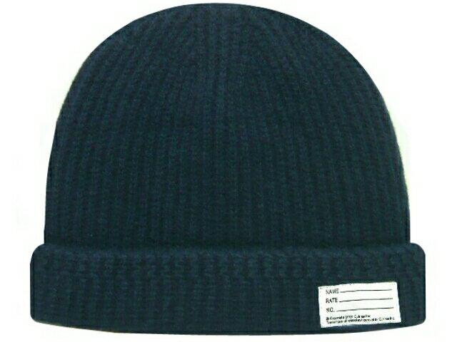 メンズ帽子, ニット帽 VISVIM 15AW KNIT BEANIE NAVY