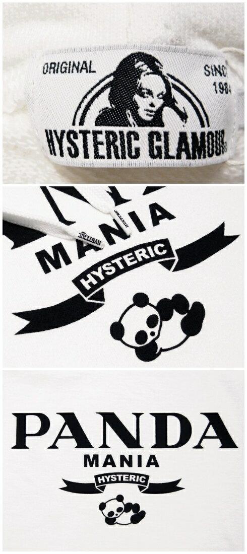 HYSTERIC GLAMOUR x T.NOGUCHI ヒステリックグラマー 野口強コラボ 17AW 新品 白 パンダ パーカー PANDA MANIA  WHITE