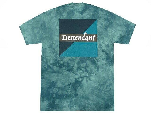 トップス, Tシャツ・カットソー DESCENDANT 18SS MAHI MAHI TIE DYE SS TEE T GREEN