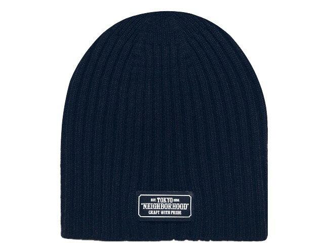 メンズ帽子, ニット帽 NEIGHBORHOOD 18AW BEANIE AW-CAP NAVY