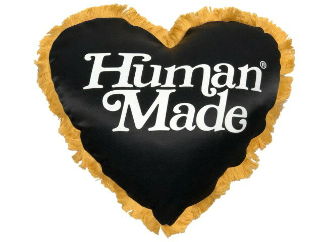 クッション, その他 HUMAN MADE GIRLS DONT CRY OPEN 19SS HEART CUSHION BLACK RED NIGO