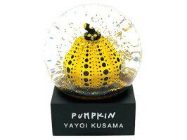 草間彌生スノードームパンプキン2019新品イエローかぼちゃPUMPKINYayoiKusama置物アート