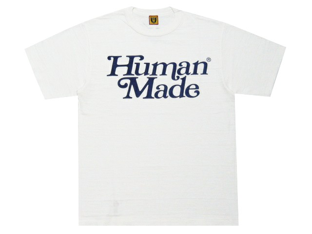 トップス, Tシャツ・カットソー HUMAN MADE 19AW GIRLS DONT CRY TEE T WHITENAVY NIGO GENERAL STORE