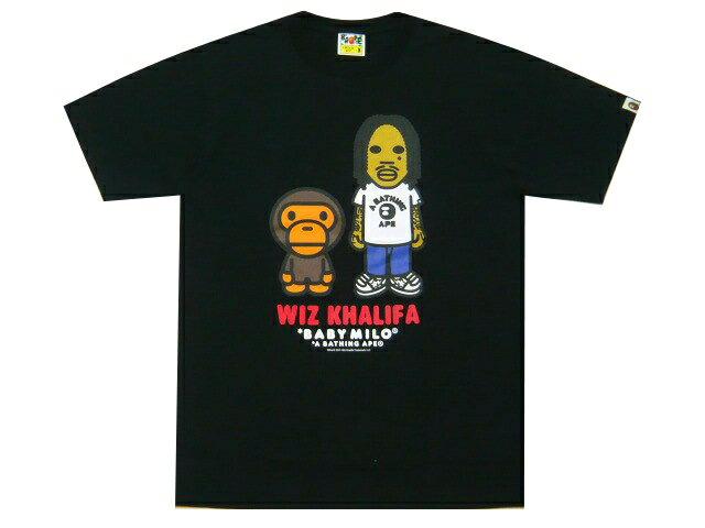 トップス, Tシャツ・カットソー A BATHING APE WIZ KHALIFA BABY MILO TEE 19AW T BLACK