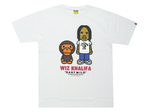 Bathing Ape milo A BATHING APE WIZ KHALIFA BABY ...