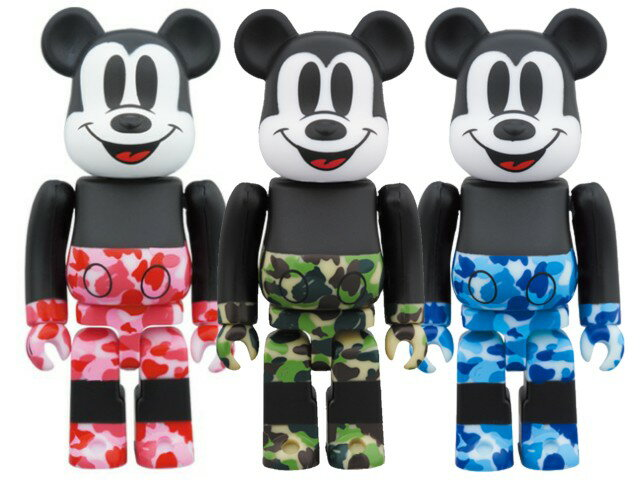 コレクション, キャラクタードール A BATHING APE MEDICOM TOY MICKEY 90TH BAPE BERBRICK 1000 19AW 1000 Disney