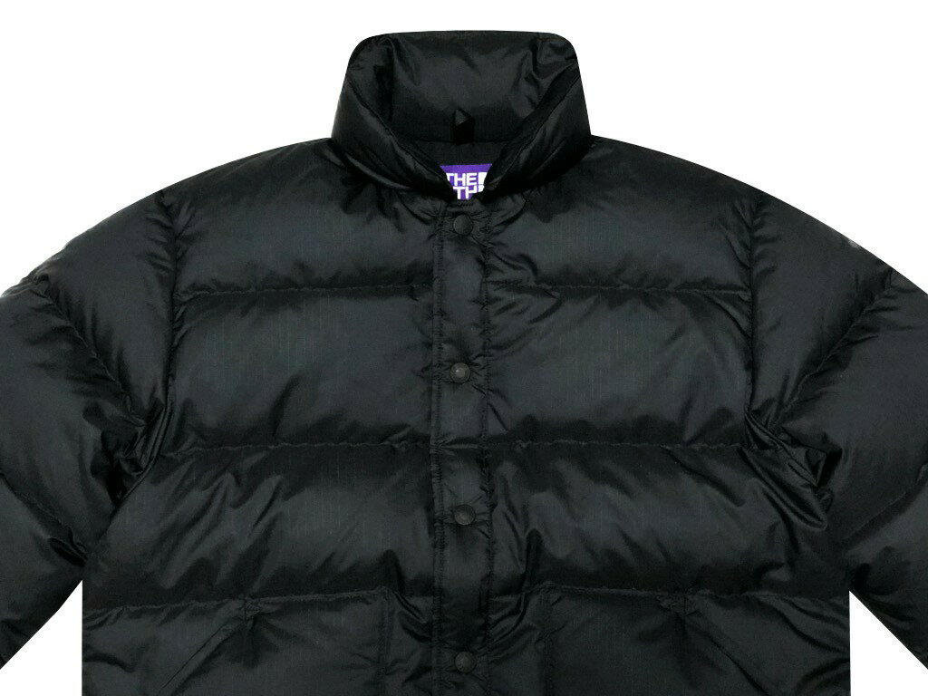 メンズファッション, コート・ジャケット  19AW Ron Herman THE NORTH FACE PURPLE LABEL Polyester Ripstop Stuffed Shirt BLACK