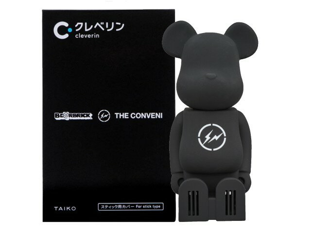 コレクション, キャラクタードール cleverin(R) BERBRICK THE CONVENI FRAGMENT BLACK MEDICOM TOY 20SS