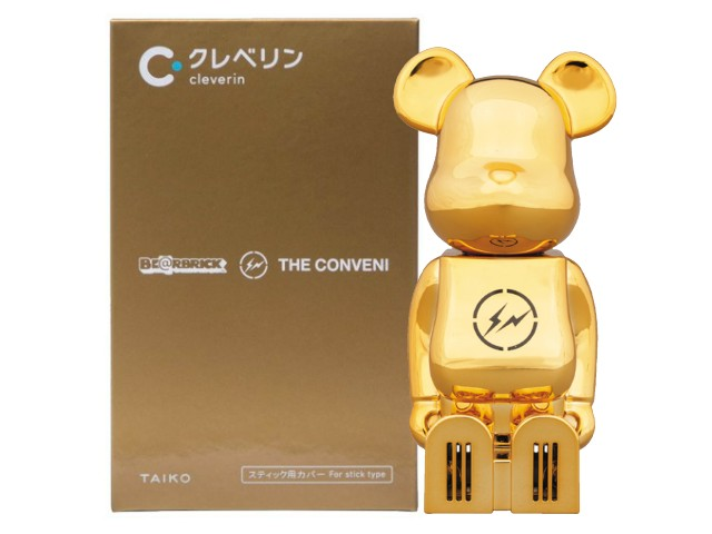 コレクション, キャラクタードール cleverin(R) BERBRICK THE CONVENI FRAGMENT GOLD MEDICOM TOY 20SS