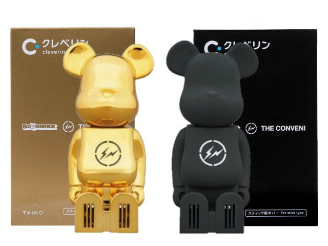 コレクション, キャラクタードール cleverin(R) BERBRICK THE CONVENI FRAGMENT GOLDBLACK 2 MEDICOM TOY 20SS 2SET