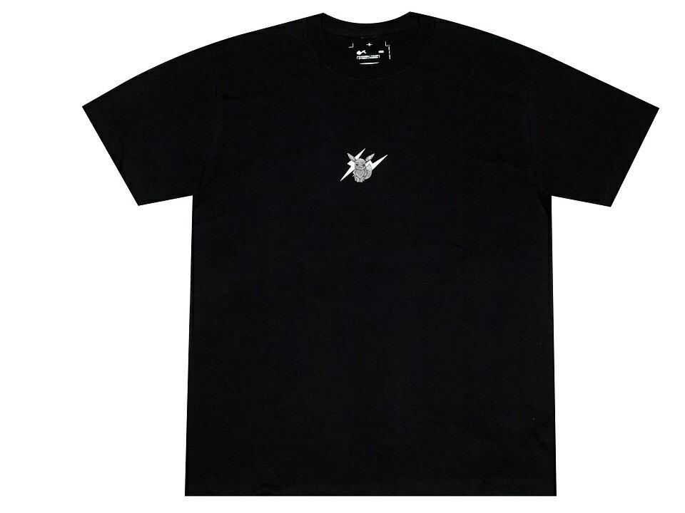 トップス, Tシャツ・カットソー fragment design POKEMON THUNDERBOLT PROJECT LOGO TEE 19AW T POP BY JUN BLACK