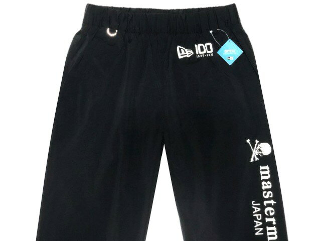 メンズファッション, ズボン・パンツ mastermind JAPAN 20SS NEW ERA WORKOUT PANTS Track Pants BLACK