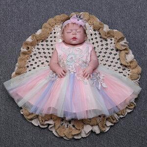 赤ちゃんドレス カラフル ワンピース セレモニードレス 新生児 洗礼式 ドレス ベビー お宮参り  花びら リボン ホワイト ピンク パープル 60 70 80 90