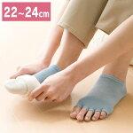 足の肌着インナーソックス22〜24cm
