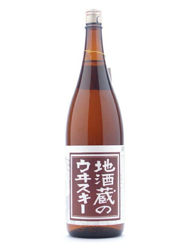 1,800 ml of whiskey 37 degrees place whiskey of the Toyama Wakatsuru Syuzo local brew storehouse