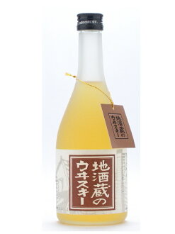 500 ml of whiskey 37 degrees place whiskey of the Toyama Wakatsuru Syuzo local brew storehouse