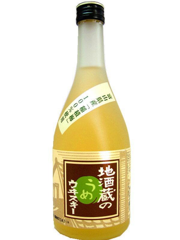 500 ml of plum whiskey 22 degrees of the Toyama Wakatsuru Syuzo local brew storehouse