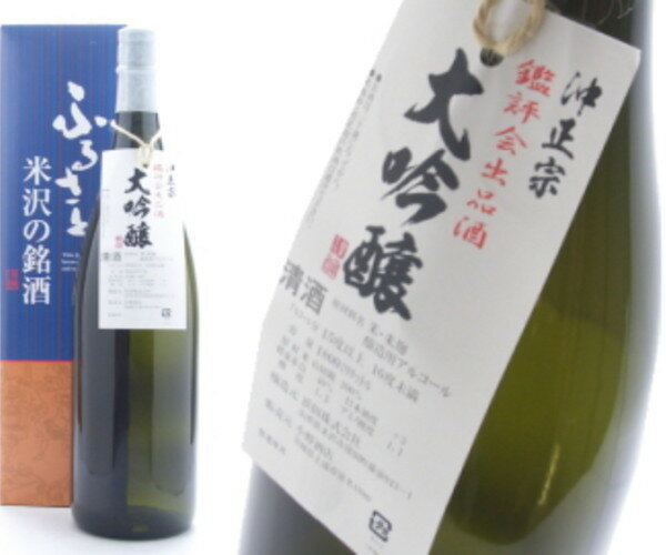 Oki Masamune's Association listing alcohol daiginjo 1800 ml
