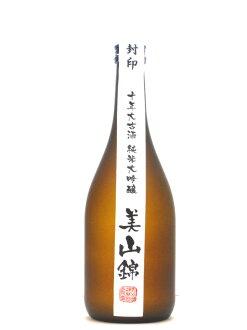 Junmai daiginjo 10 year old wine mountain Kumho 720 ml