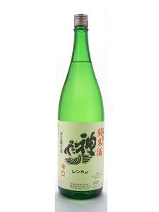 漫画「美味しんぼ」にも登場した、神亀酒造の顔とも言うべき純米酒がコレだ!埼玉県 神亀酒造...