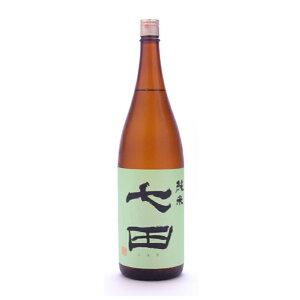 Tenyama Sake Brewery Nanada [Shichida] Pure rice unfiltered 1800ml [Sake] Sake