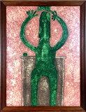 ルフィーノ・タマヨ「緑色の人物」銅版画