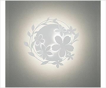 【法人限定】【オーデリック】 OB 255 160 [OB255160] デコウォールライト 屋内 ブラケット 花 立体仕上げ LED一体型 調光器不可