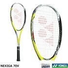 ソフトテニスラケットNEXIGA70Vネクシーガ70Vヨネックス