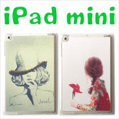 ipadminiretinaケース/デコレーション線画ラインストーンハードケース薄型ipadminiretinaアイパッドミニケース【保護フィルム付き】ipadminiカバーiPadケースかわいいアイパッドミニ/ipadmini/ipad02P01Feb14