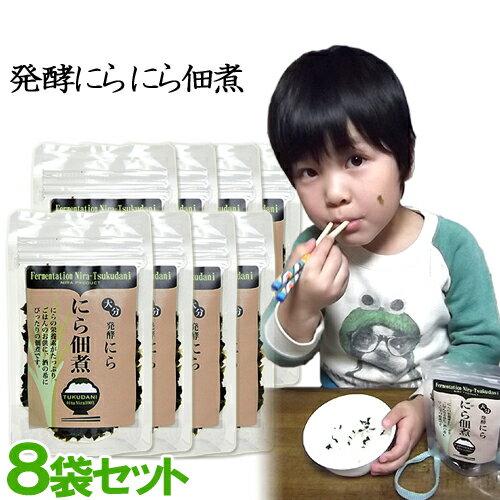 ハヤミ産業 発酵にら佃煮 50g×8袋セット【母の日ギフトクーポン】