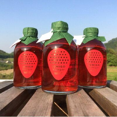 いちごビネガー(大分県オリジナル新品種ベリーツ)250mlむろおの会いちご酢
