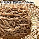 [クーポン併用で40%OFF]由布院有機栽培玄蕎麦使用 生そば1人前 (麺110g×1/そばつゆ25g×1) 由布製麺BFクーポン