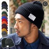 CABALLERO(キャバレロ) メンズ 帽子 ニット帽 ネームタグ付き/無し 選べる♪ 厚手の ニット ワッチ リブ編み / ケーブル編み ニットキャップ ワッチキャップ 男女兼用 | 防寒 ぼうし スノボ スノーボード キャップ 【YP】