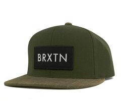 ブリクストン スナップバック キャップ リフト グリーン 帽子 BRIXTON SNAP BACK CAP RIFT GREEN [ スナップバック キャップ サイズ調整 大きい サイズ メンズ レディース ][GN] #CP:S