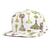 クルックス&キャッスルズ(Crooks&Castles)スナップバック キャップ ホーリー グレイル ホワイト 帽子 SNAPBACK CAP HOLY GRAIL WHITE メンズ