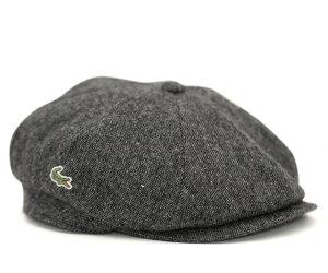 ★ラコステ キャップ キャスケット ブラック 帽子 LACOSTE CASQUETTE BLACK【あす楽対応_関東】
