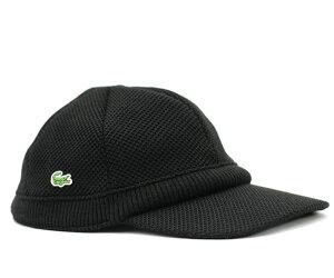 ★ラコステ キャップ ブラック 帽子 LACOSTE CAP BLACK【あす楽対応_関東】