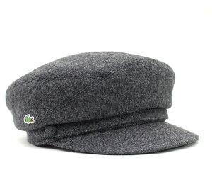 ★ラコステ キャスケット ブラック 帽子 LACOSTE CASQUETTE BLACK【あす楽対応_関東】