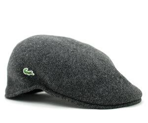 ★ラコステ ハンチング グレー LACOSTE HUNTING GRAY [ 帽子 ハンチンキャップ ハンチング帽 メ...