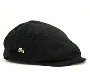 ★ラコステ ハンチング ブラック 帽子 LACOSTE HUNTING BLACK【あす楽対応_関東】