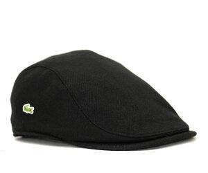★ラコステ ハンチング アジャスタブル ブラック 帽子 LACOSTE HUNTING BLACK【あす楽対応_関東】