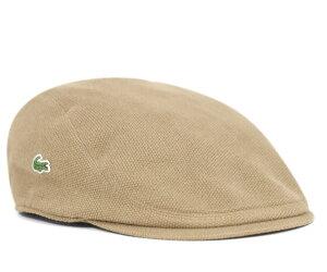 ★ラコステ 鹿の子 ハンチング ベージュ LACOSTE HUNTING BEAGE [ 帽子 ハンチング帽 ゴルフ ]