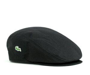 ★ラコステ ハンチング ツイル ブラック LACOSTE HUNTING TWILL BLACK L3979 12000 [ 帽子 ハン...