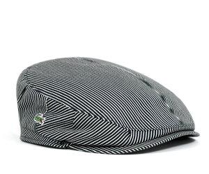 ★ラコステ ハンチング ストライプ ネイビー LACOSTE HUNTING STRIPE NAVY L3519 12S00 [ 帽子 ...