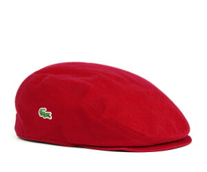 ★ラコステ ハンチング ツイル レッド LACOSTE HUNTING TWILL RED L3979 12000 [ 帽子 ハンチン...