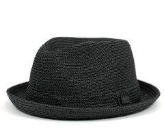 ★ベイリー ハット ブラック BAILEY HAT BILLY BLACK [ ストローハット 中折れ 麦わら 大きい ...