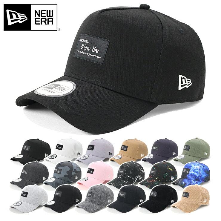 メンズ帽子, キャップ  9FORTY A-FRAME BLACK PATCH NEW ERA