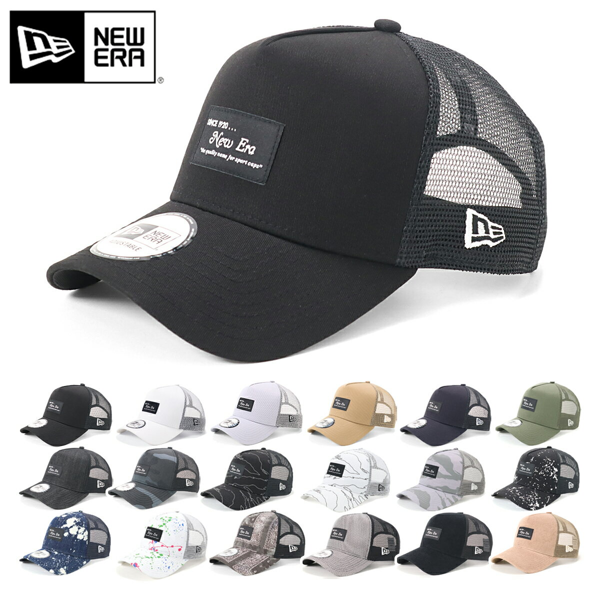 メンズ帽子, キャップ  NEW ERA 9FORTY A-FRAME TRUCKER ONSPOTZ