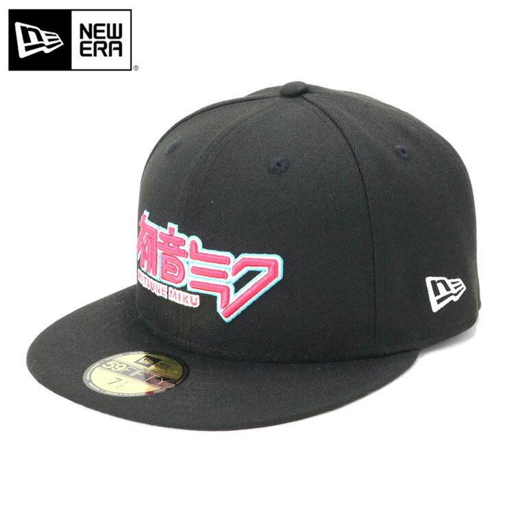 メンズ帽子, キャップ  New Era 59FIFTY HATSUNE MIKU MAIN LOGO