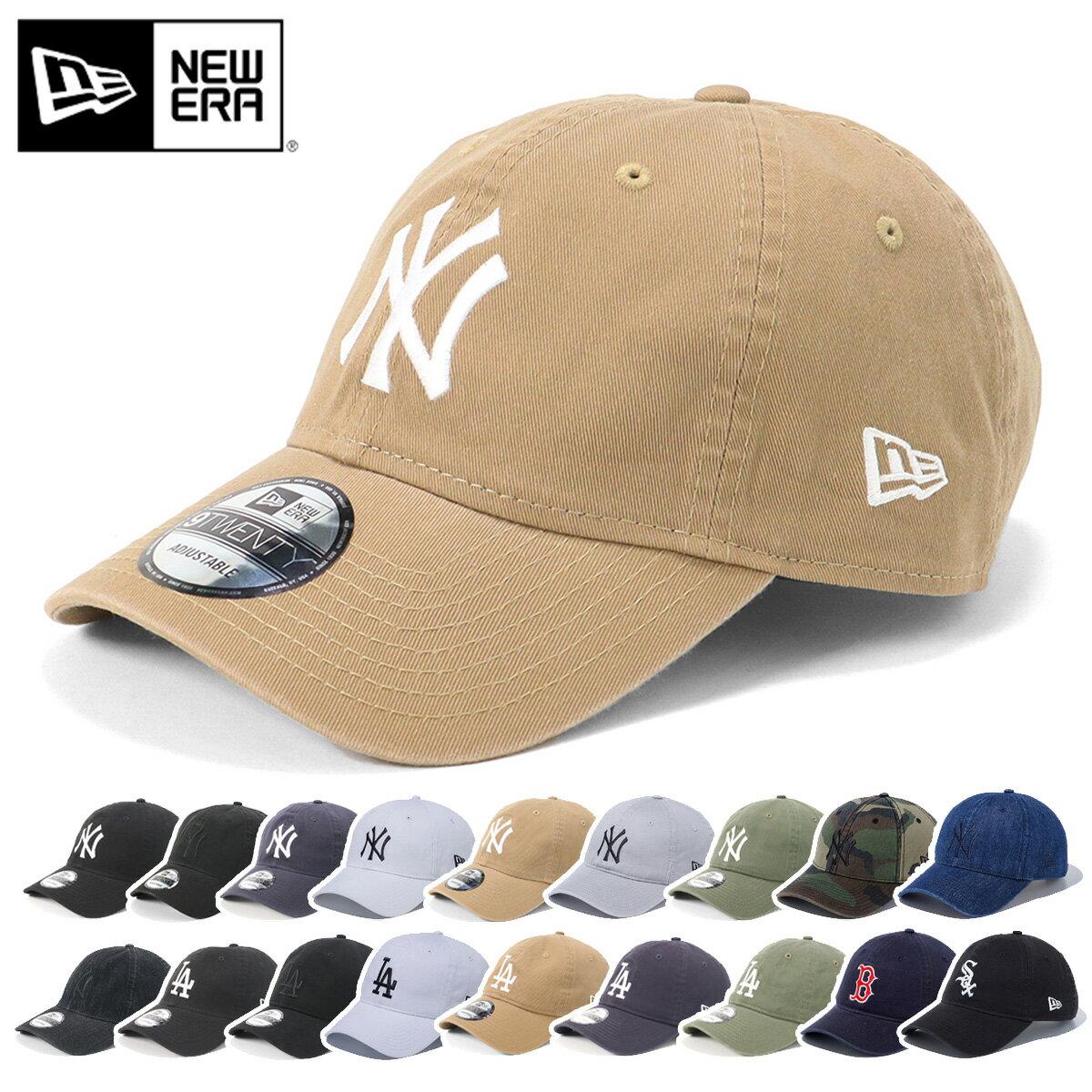 メンズ帽子, キャップ  NEW ERA ONSPOTZ WASHED COTTON 9TWENTY MLB